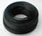 Câble électrique rigide unifilaire H07VU diam.2,5mm² coloris noir en couronne de 25m - Gedimat.fr