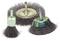 Lot 3 brosses sur tige acier pinceau/circulaire/conique 6x30 fil 0.3 - Gedimat.fr