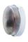 Hublot d'éclairage EBENOID rond polypropylène blanc et verre pour lampe à culot à baïonnette B22 100W maxi - Gedimat.fr