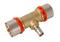 Té à sertir pour tube multicouche Fluxo diam.63mm/26mm/63mm - Gedimat.fr