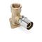 Coude applique multicouches NICOLL Fluxo à sertir diam.20mm sortie à visser femelle diam.20x27mm - Gedimat.fr