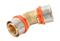 Coude à sertir pour tube multicouches NICOLL Fluxo angle 45° diam.40mm - Gedimat.fr