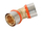Coude à sertir pour tube multicouches NICOLL Fluxo angle 45° diam.63mm - Gedimat.fr