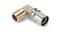 Coude à sertir pour tube multicouches NICOLL Fluxo angle 90° diam.16mm sortie à visser mâle diam.15x21mm - Gedimat.fr