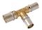 Té à sertir pour tube multicouche Fluxo diam.20mm/26mm/20mm - Gedimat.fr