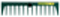 Rateau BATIPRO 14 dents long.40cm sans manche - Gedimat.fr