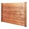 Poteau en bois (pin) pour clôture CEYLAN haut.2,40m larg.4,5cm long.9cm brun - Gedimat.fr