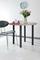 Pied de table fixe en acier  chromé diam.60mm haut.710mm - Gedimat.fr
