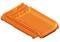 Demi-rive normande droite pour tuiles RESIDENCE coloris amarante - Gedimat.fr