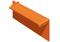 Rive à recouvrement traditionnelle droite pour tuile RESIDENCE coloris brun rustique - Gedimat.fr