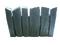 Bordure dalle pour terrasse ou piscine en pierre reconstituée ARDOISIERE larg.40cm long.55cm coloris anthracite - Gedimat.fr