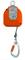 Enrouleur de sécurité ruban en kevlar boitier plastique antichoc long.6m - Gedimat.fr