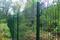 Panneau soudé ZEPHYR maille de 100x55.5mm fil diam.4mm long.2,50m haut.1,72m vert - Gedimat.fr