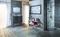 Carrelage pour sol et mur en grès cérame émaillé BETONAGE larg.30,5cm long.60,5cm coloris gris - Gedimat.fr