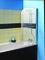 Ecran de baignoire 1 volet avec porte-serviette FARA haut.140cm larg.80cm Verre transparent - Gedimat.fr