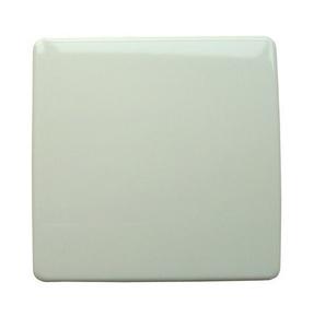 Plaque de fermeture série VEGA pour boîte de dérivation dim.75x75mm coloris blanc - Gedimat.fr
