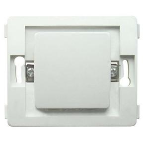 Interrupteur va et vient simple série VENUS non monté 10A coloris blanc - Gedimat.fr