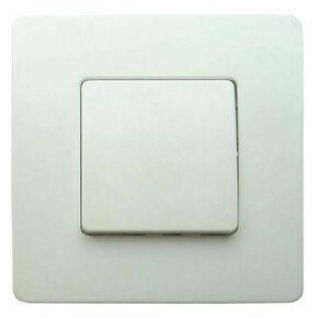 Interrupteur va et vient simple série VENUS monté 10A coloris blanc - Gedimat.fr
