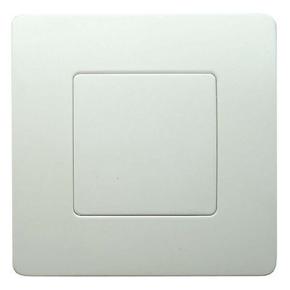 Plaque de fermeture pour appareillage série VENUS dim.75x75mm coloris blanc - Gedimat.fr