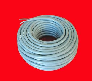 Câble électrique rond H05VVF diam.2x1,5mm² coloris gris en couronne de 25m - Gedimat.fr