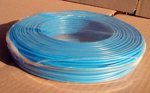 Câble électrique rigide unifilaire H07VU diam.1,5mm² coloris bleu en couronne de 25m - Gedimat.fr