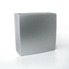 Boîte de dérivation électrique série BEL'VUE pour pose en saillie coloris chrome - Gedimat.fr