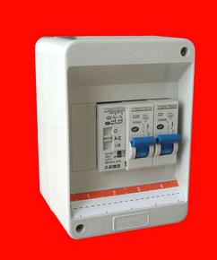 Coffret électrique modulaire pré-équipé pour branchement de chauffe eau électrique en 220V - Gedimat.fr