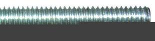 Tige entièrement filetée M6 en acier zingué,mm long.1m - boite de 100 pièces - Gedimat.fr