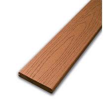 Lame de terrasse composite FIBERON ép.24mm larg.13,3cm long.3m65 marron - Gedimat.fr