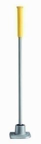 Dame carrée 5kg BATIPRO 16x16cm manche métal long.1m - Gedimat.fr