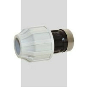 Raccord à serrage extérieur Techn'o pour tube diam.25mm sortie femelle diam.20x27mm en vrac 1 pièce - Gedimat.fr