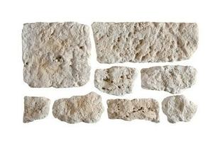 Plaquettes de parement en pierre reconstituée MANOIR coloris naturel - Gedimat.fr