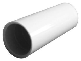 Manchon pour tube IRL diam.25mm coloris gris en sachet de 5 pièces - Gedimat.fr