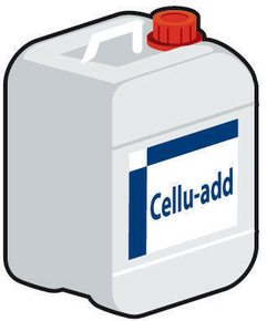 Additif pour mortier colle béton cellukaire Cellu-Add bidon 5L - Gedimat.fr
