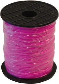 Tresse fluo rose 2,5mm - 200m - Gedimat.fr