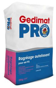Ragr age autolissant pour sol sac de 25 kg for Ragreage autolissant sur carrelage