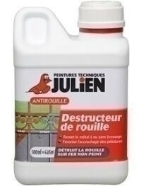 Destructeur de rouille OT'ROUILLE bidon de 0,50 litre - Gedimat.fr