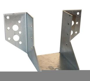 sabot de charpente ailes ext rieures acier galvanis en barquette plastique. Black Bedroom Furniture Sets. Home Design Ideas