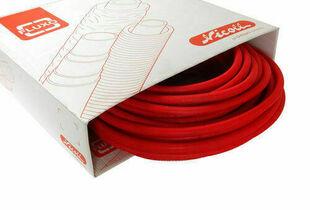 Tube multicouches NICOLL Fluxo pré-fourreauté diam.16mm ép.2mm couronne de 50 m coloris rouge - Gedimat.fr