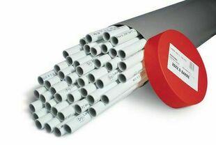 Tube multicouches NICOLL Fluxo nu diam.50mm ép.4mm en longueur de 4m - Gedimat.fr