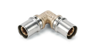 Coude à sertir pour tube multicouches NICOLL Fluxo angle 90° diam.20mm - Gedimat.fr