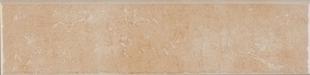 Plinthe carrelage pour sol en grès cérame émaillé CARMEL larg.8cm long.34cm coloris cuir - Gedimat.fr