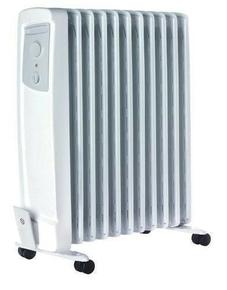 radiateur lectrique mobile bain d 39 huile or 115 tls 1500w haut 63 4cm. Black Bedroom Furniture Sets. Home Design Ideas