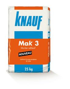 Mortier adhesif MAK3 sac de 8kg - Gedimat.fr