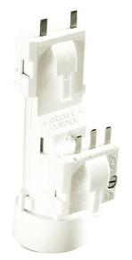 Douille et fiche DCL nylon pour lampe de puissance maxi 75W - Gedimat.fr