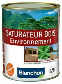 Saturateur bois environnement 0,75L chêne brule - Gedimat.fr