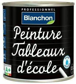 Peinture tableau d'école mat noir pot 0,5l - Gedimat.fr