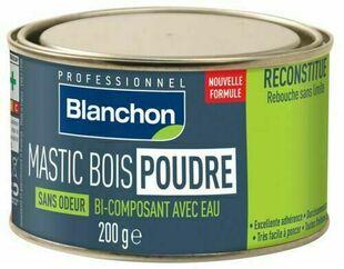 Mastic bois sans odeur bois blanc 200 g - Gedimat.fr