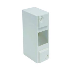 Coffret électrique modulaire cache bornes blanc à équiper 2 modules - Gedimat.fr