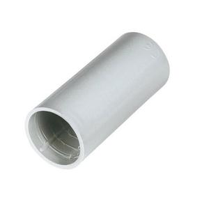 Manchon droit pour tube IRL coloris gris diam.16mm en sachet de 2 pièces - Gedimat.fr